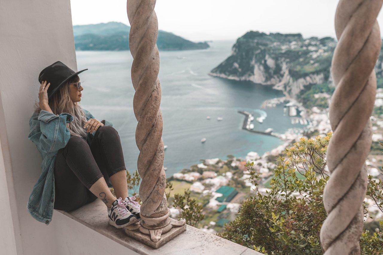 miradores en Capri