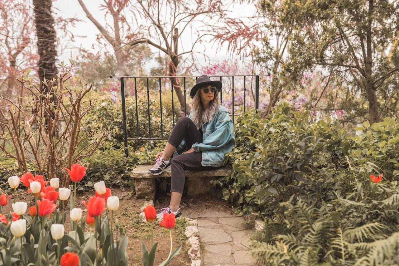 jardines Sant Michelle en Capri