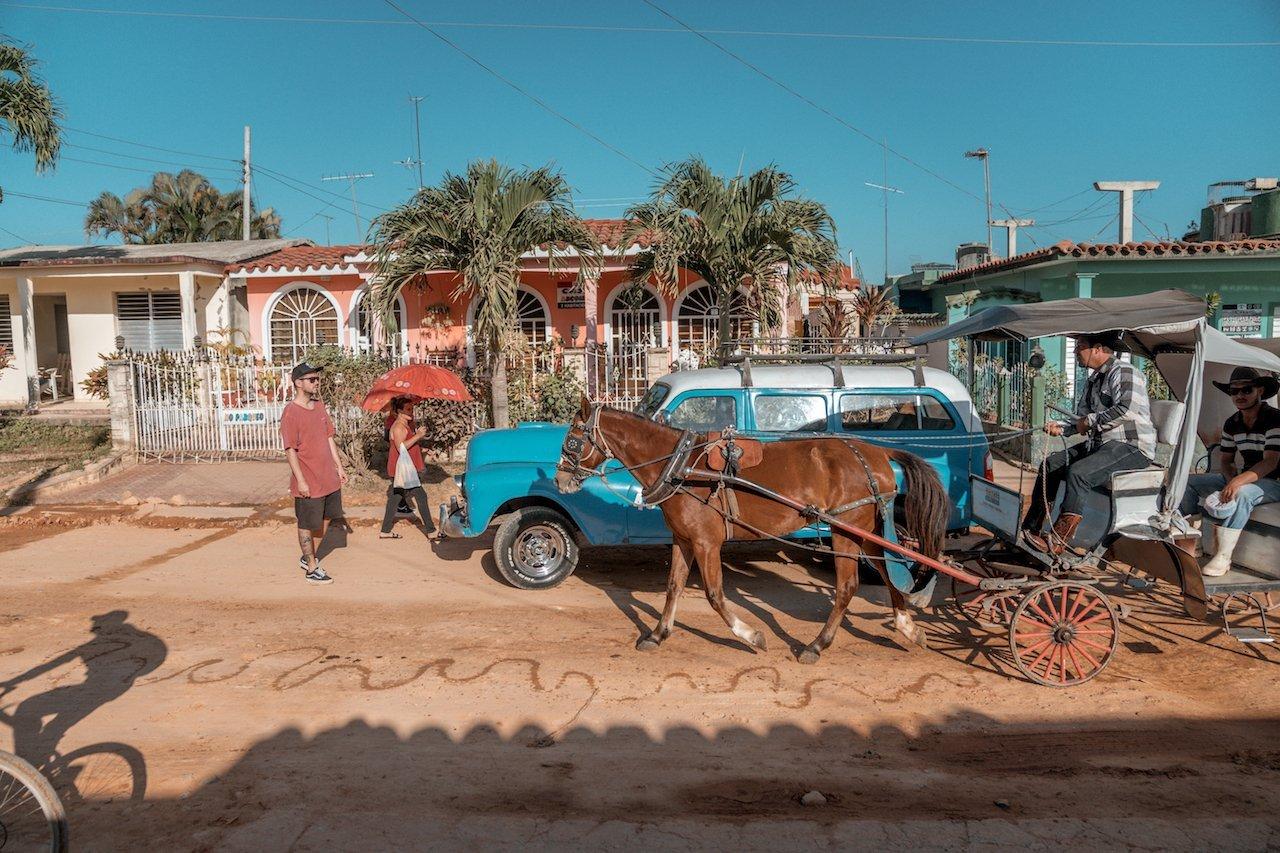 como moverte en Cuba